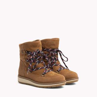 Tommy Hilfiger Suede Lace Up Boot
