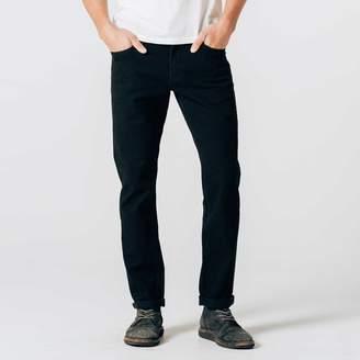 DSTLD Slim Jeans in Jet Black