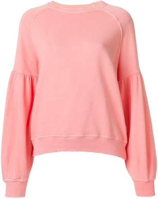 The Great puff sleeved sweater