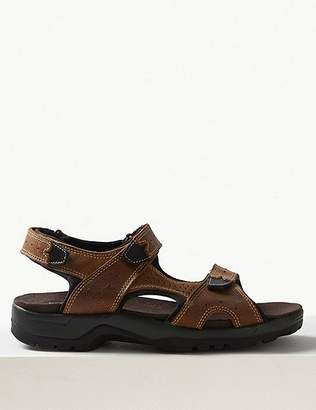 Marks and Spencer Leather Riptape Sandals
