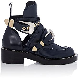 Balenciaga Women's Ceinture Ankle Boots $1,275 thestylecure.com