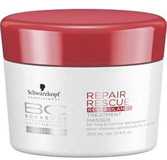 Schwarzkopf BC Repair Rescue Reversilane Treatment Masque (For Fine to Normal Damaged Hair) 200ml