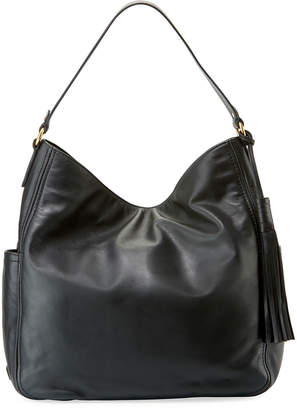 Cole Haan Gabriella Smooth Leather Bucket Bag