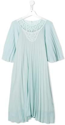 Chloé Kids TEEN pleated dress