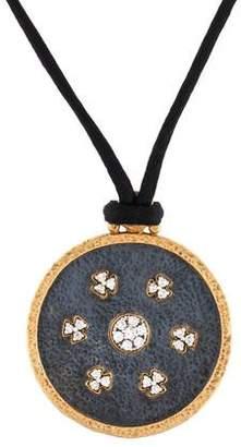 Gurhan Black Imperial Diamond Pendant Necklace