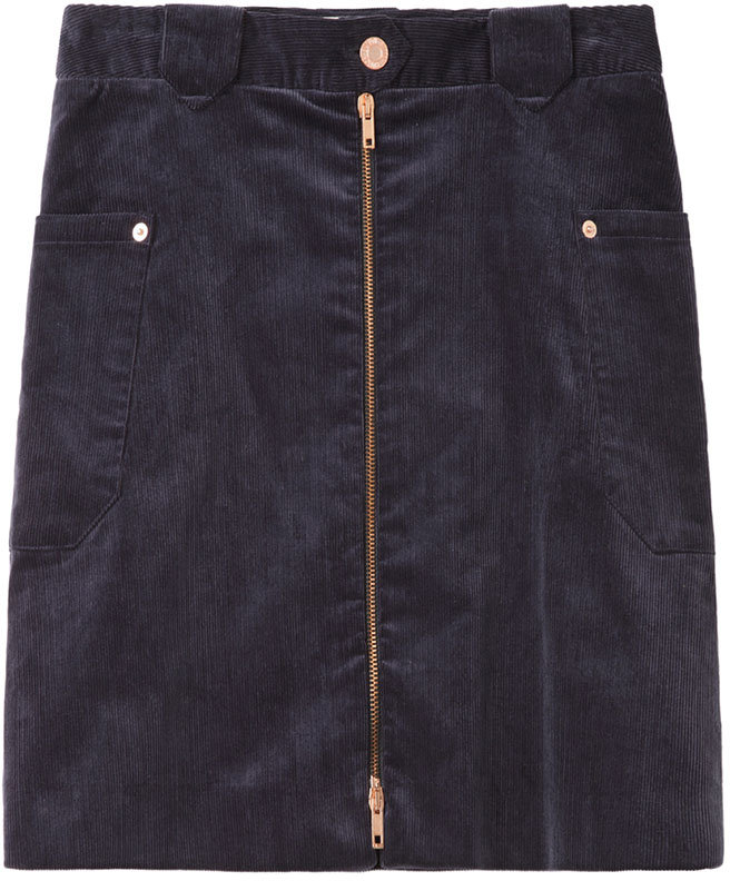 Boy By Band Of Outsiders Corduroy Zip Skirt