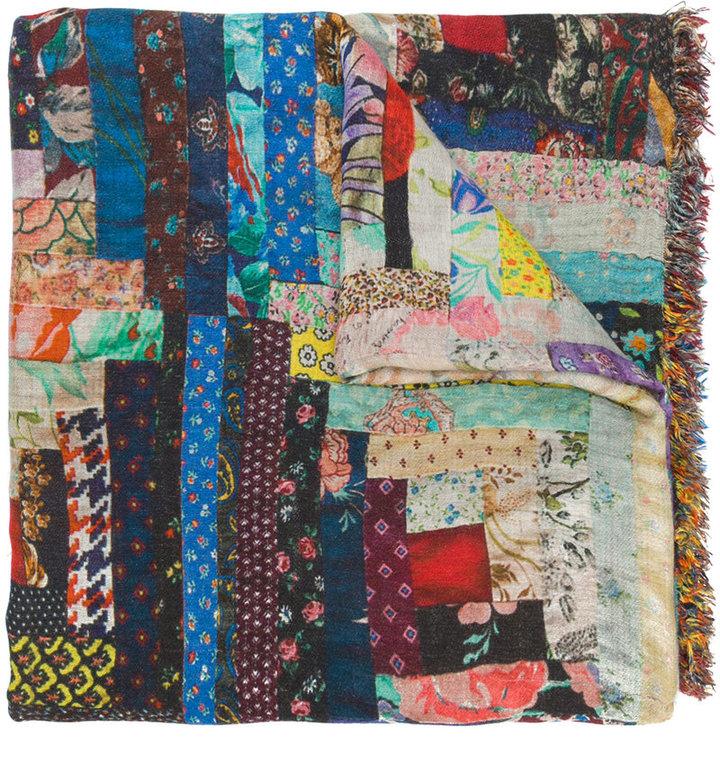 Faliero Sarti intricate print scarf
