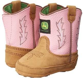 John Deere Johnny Poppertm Crib Cowboy Boots