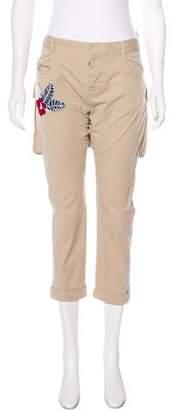 DSQUARED2 Mid-Rise Straight-Leg Pants