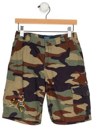 Polo Ralph Lauren Boys' Camouflage Knee-Length Shorts