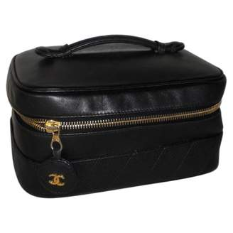 Chanel Timeless leather vanity case
