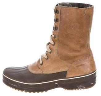 Sorel Leather Ankle Boots
