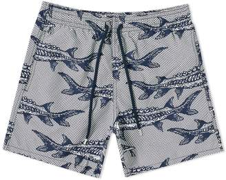 Vilebrequin Moorea Large Fish Print Swim Short