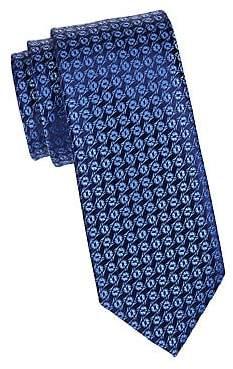 Charvet Men's Silk Foliage Tie