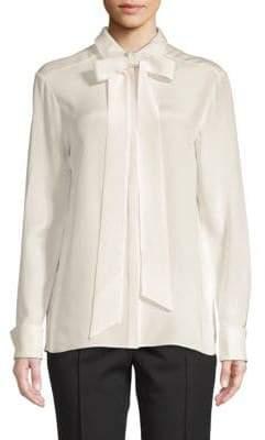 Tibi Cotton Button-Down Shirt