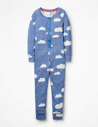 Boden Printed All-in-one Pyjamas