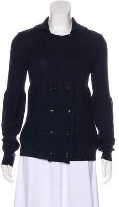 Golden Goose Wool & Alpaca-Blend Button-Up Cardigan