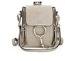 Chloé Women's Mini Faye Leather & Suede Backpack