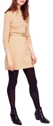 Free People French Girl Sweater Minidress