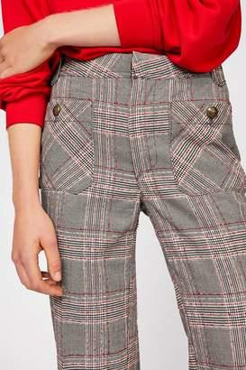 Hip Hugging Straight Flare Pants