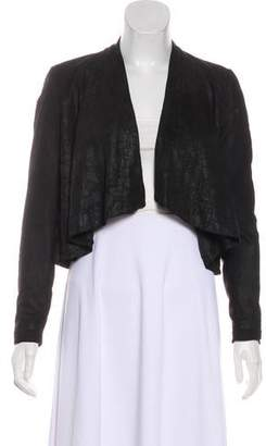 Helmut Lang Leather Perforated Jacket