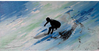 Parvez Taj Downhill Swish Canvas Wall Art