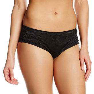 After Eden Signature by Women's Boxer Solid Lace Plain Full Slip,(Manufacturer Size:X-Large)
