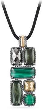 David Yurman Chatelaine® Large Mosaic Pendant Necklace With 18K Gold