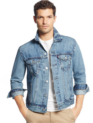 Levi's Men's Denim Trucker Jacket $89.50 thestylecure.com
