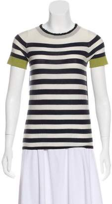 Yigal Azrouel Striped Knit Top