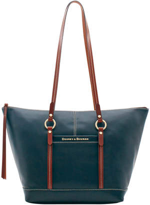 68cafe1e2 Dooney & Bourke Black Leather Tote Bags - ShopStyle