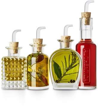 Luigi Bormioli Elixir 4-Piece Condiments Set
