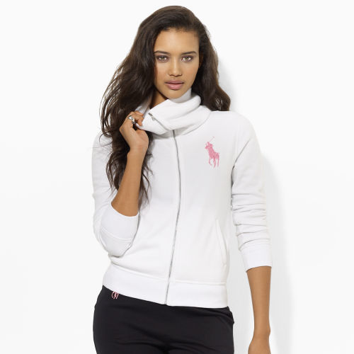 Ralph Lauren Pink Pony Pink Pony Full-Zip Jacket