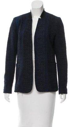 Elie Tahari Tweed Open Front Blazer $95 thestylecure.com