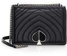 Kate Spade Women's Medium Amelia Leather Flap Shoulder Bag