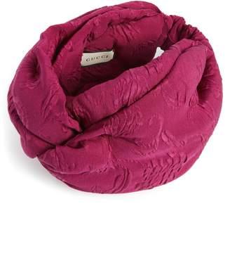 Gucci Rilly Brocade Silk Turban