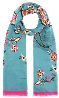 Etro Floral-printed scarf