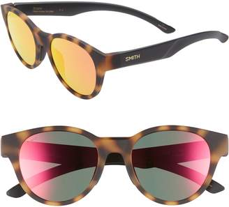 Smith Snare 51mm Polarized Matte Round Sunglasses