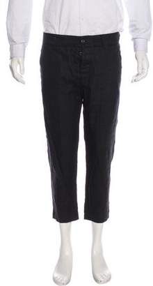 Dolce & Gabbana Linen Cropped Pants