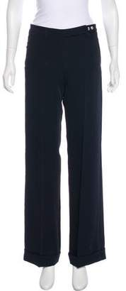Blumarine Mid-Rise Wide-Leg Pants w/ Tags