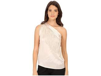 Rachel Zoe Kenna One Shoulder Scarf Top Women's Clothing