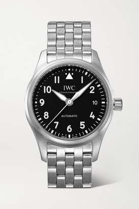 IWC SCHAFFHAUSEN - Pilot's Automatic 36mm Stainless Steel Watch - Silver
