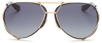 Givenchy Aviator Sunglasses, 65mm $545 thestylecure.com