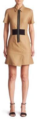 Alexander WangAlexander Wang Safari Zip-Front Dress