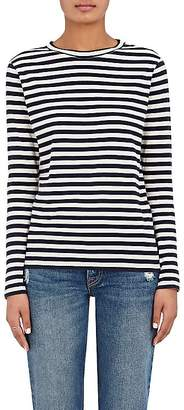 Barneys New York Women's Striped Cotton Jersey Long-Sleeve T-Shirt
