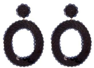 At Nordstrom Rack Baublebar Twiggy Sequin Hoop Dangle Earrings