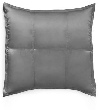 Donna Karan New York Collection 'Surface' Silk Charmeuse Euro Pillow Sham