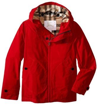 Burberry Kids - New Lightweight Technical Packaway Boy's Coat $265 thestylecure.com