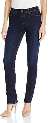 Armani Jeans Women's Mid Rise Rinse Stretch Skinny