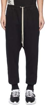 Rick Owens Drop crotch knit jogging pants